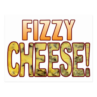 Fizzy Blue Cheese Postcard