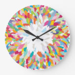 fizzy feathers clock