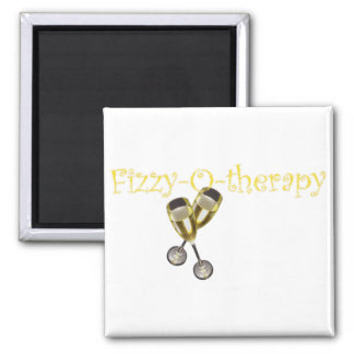 Fizzy-O-therapy 2 Inch Square Magnet