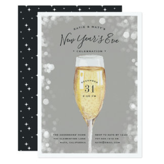 Fizzy Pop | New Year's Eve Party Invitation