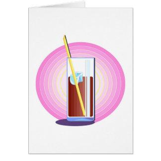 Fizzy Soda Drink Card
