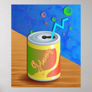 Fizzy Soda Drink Poster