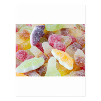 fizzy sweets postcard