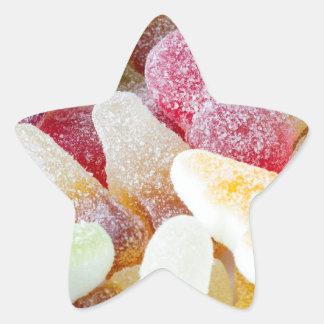fizzy sweets star sticker