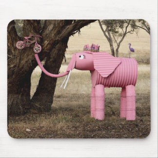 Fizzy The Elephant Mouse Pad