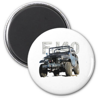 FJ40 Landcruiser Apparel 2 Inch Round Magnet
