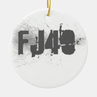 FJ40 Type Ceramic Ornament