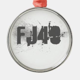 FJ40 Type Metal Ornament