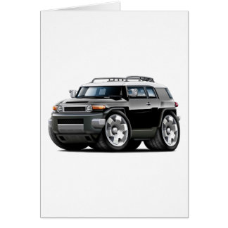 Fj Cruiser Black Car Card