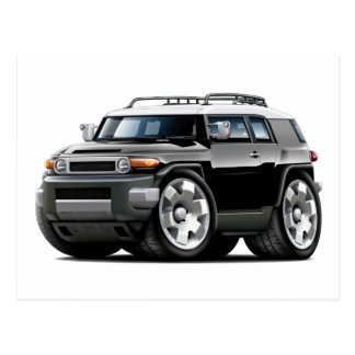 Fj Cruiser Black Car Postcard