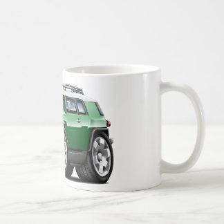 Fj Cruiser Green Car Classic White Coffee Mug
