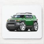 Fj Cruiser Green Car Mouse Pad