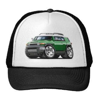 Fj Cruiser Green Car Trucker Hat