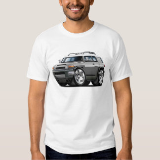 Fj Cruiser Grey Car T-shirt
