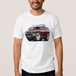 Fj Cruiser Maroon Car T-shirt