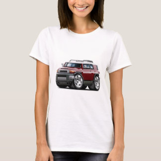 Fj Cruiser Maroon Car T-Shirt