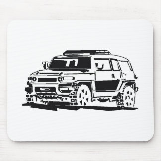 FJ  Cruiser New Generation Mouse Pad