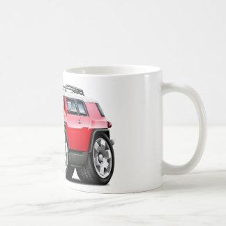 Fj Cruiser Red Car Classic White Coffee Mug