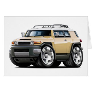Fj Cruiser Tan Car Card