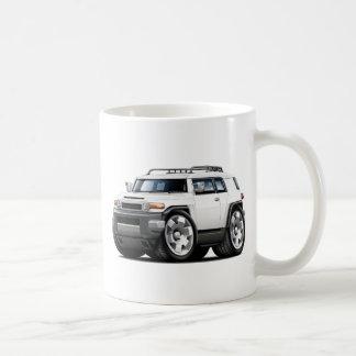 Fj Cruiser White Car Coffee Mug