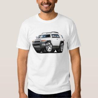 Fj Cruiser White Car T Shirt