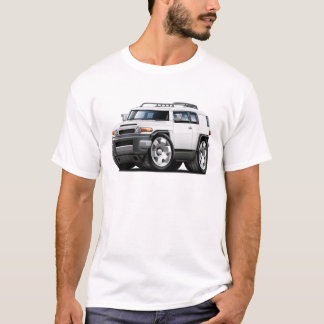 Fj Cruiser White Car T-Shirt