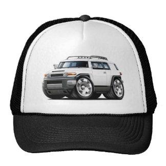 Fj Cruiser White Car Trucker Hat