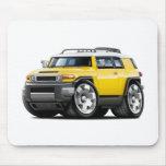 Fj Cruiser Yellow Car Mousepad