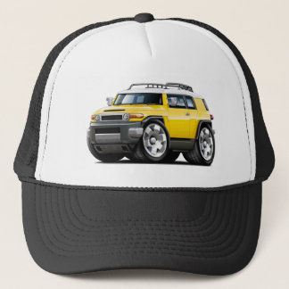 Fj Cruiser Yellow Car Trucker Hat