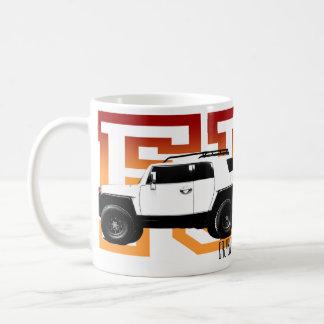 FJ Off Road Classic White Coffee Mug