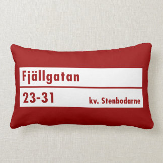 Fjällgatan Estocolmo placa de calle sueca