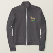 Fjord Horse Embroidered Jackets