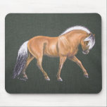 "Fjord Horse Mousepad<br><div class=""desc"">Painting by Sandra Snow</div>"