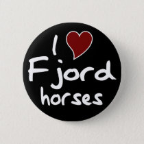 Fjord horses button