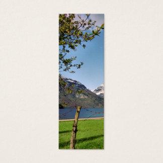 Fjord Idyll Bookmark Mini Business Card