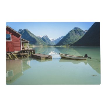 iPictures Fjord landscape in Norway placemat