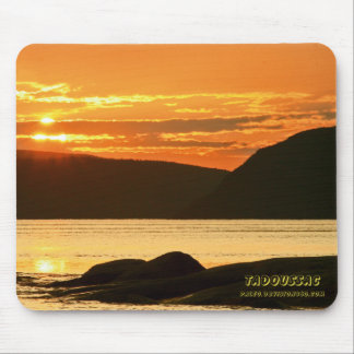 Fjord of Saguenay Mouse Pad