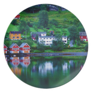 Fjord Reflections 1 Party Plate