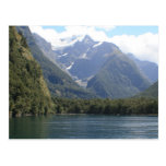Fjordlands, New Zealand Postcard