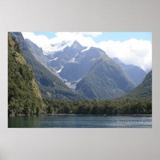 Fjordlands, New Zealand Print