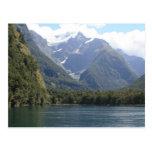 Fjordlands, Nueva Zelanda Tarjeta Postal