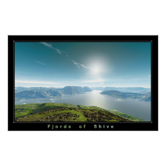 Fjords of Shive Poster
