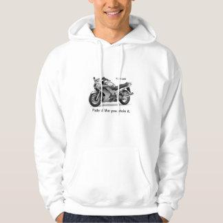 fjr1300 gen1 blue hoodie