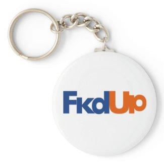 Fkd Up Keychain