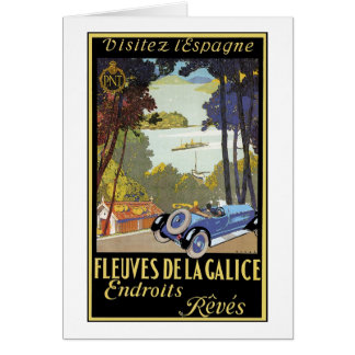 Fkeyves de la Galice Endroits Reves Greeting Card