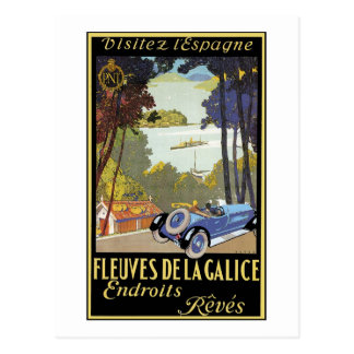 Fkeyves de la Galice Endroits Reves Postcards