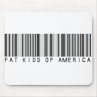 FKOA barcode Mouse Pad