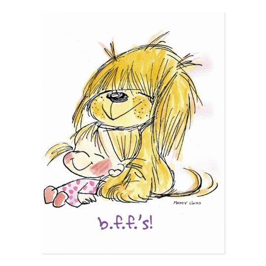 FL-002 Puppy Love Postcard