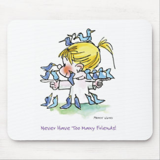 FL-005 Birdy Love Mouse Pad