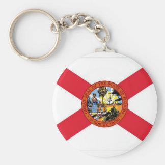 FL Flag Keychain